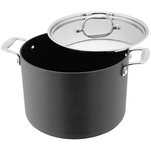 Stellar Hard Anodised 24cm Stockpot S645