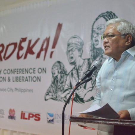 Pidato pada Konferensi Studi tentang Penentuan Nasib Sendiri dan Pembebasan Papua Barat