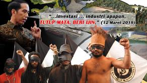 GempaR Papua: Close Your Eyes, Fight Back!