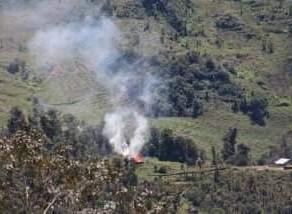 TNI POLRI Burns Citizens' Houses in Mugi and Darakma, Nduga Papua