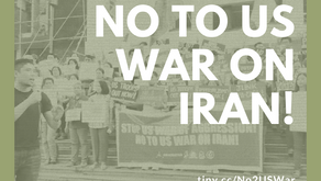 Call to Action: No to US War on Iran!