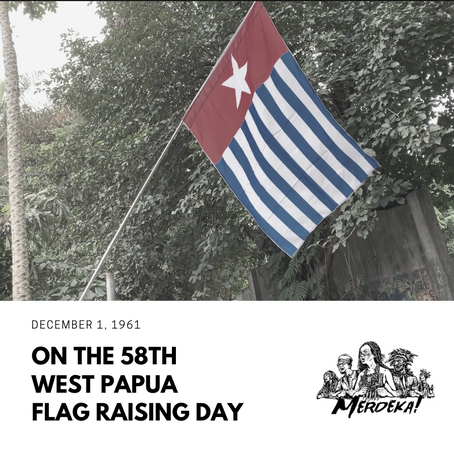 Statement on 58th West Papua Flag Raising Day