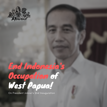On President Jokowi's 2nd Inauguration