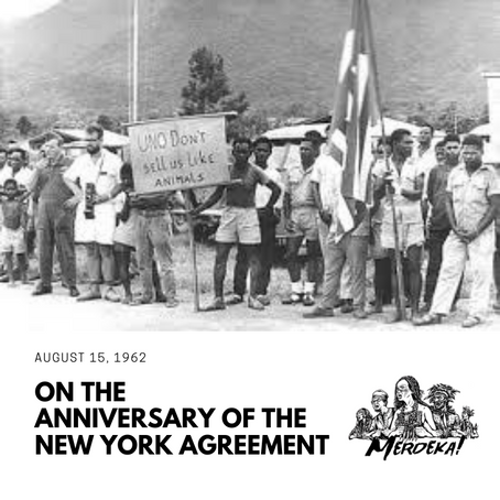 Statement on the 57th Anniversary of the New York Agreement