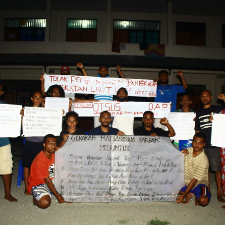 West Papuan students call upon Indonesian President to release political prisoners