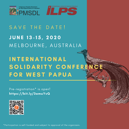 Save the Date: International Solidarity Conference for West Papua