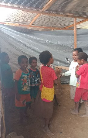 The Nduga Refugee School
