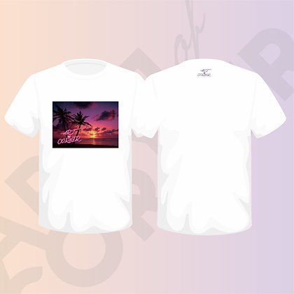 "ARTofCORNER""Sunset TEE"""