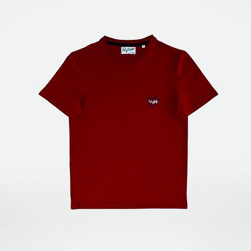 T-shirt unisexe édition limitée vélo bordeaux