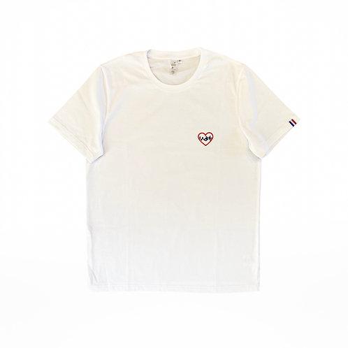 T-shirt  femme édition limitée vélo blanc
