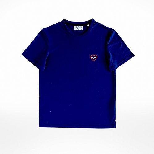 T-shirt unisexe édition limitée vélo bleu marine