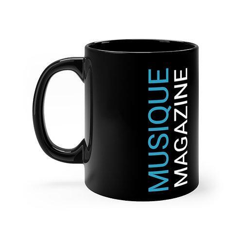 Black MUSIQUE mug 11oz