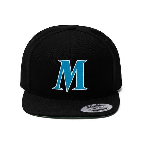 MUSIQUE Unisex Flat Bill Hat