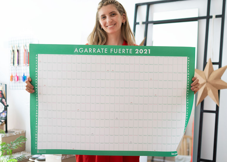 Agarrate Fuerte 2021!