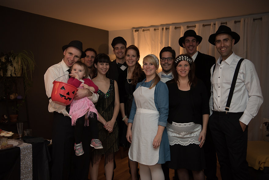 Joliane Murder mystery party