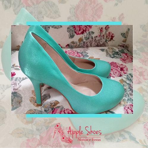 Sapato de Noiva VerdeTiffany