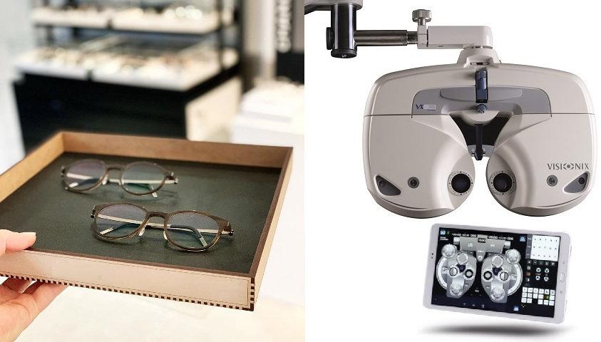 Oogmeting + aankoop van bril