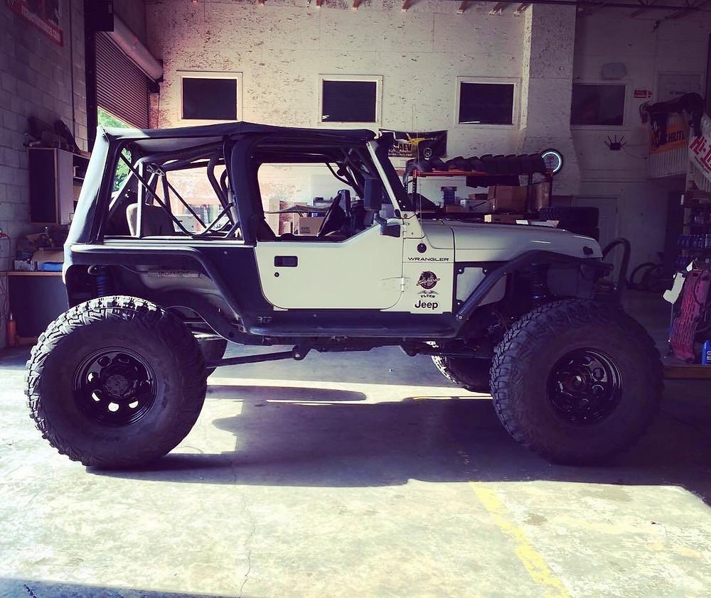 2002 Jeep Wrangler TJ - Rock Crawler