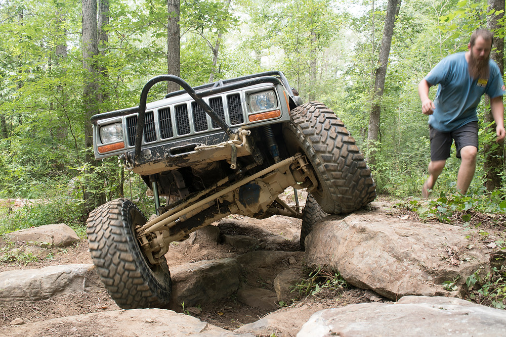 2000 Jeep Cherokee XJ Rock Crawler - Nick