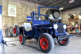 1946 CJ2A Restoration