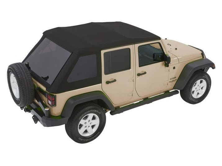 Bestop Trektop Nx Glide Convertible Soft Top 4dr Black