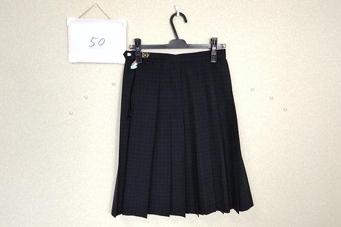 桑原中 女子 夏スカート 63-57