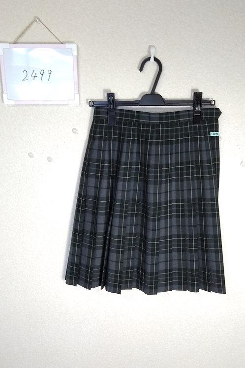 松山東高 女子 夏スカート w60-51
