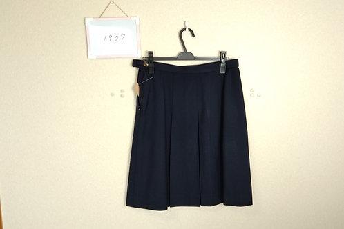 松山中央高 女子 冬スカート w78-57
