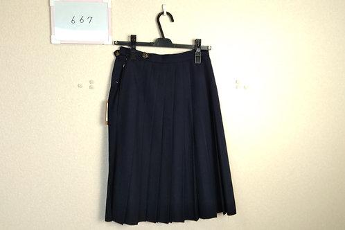 標準高 女子 冬スカート 60-57
