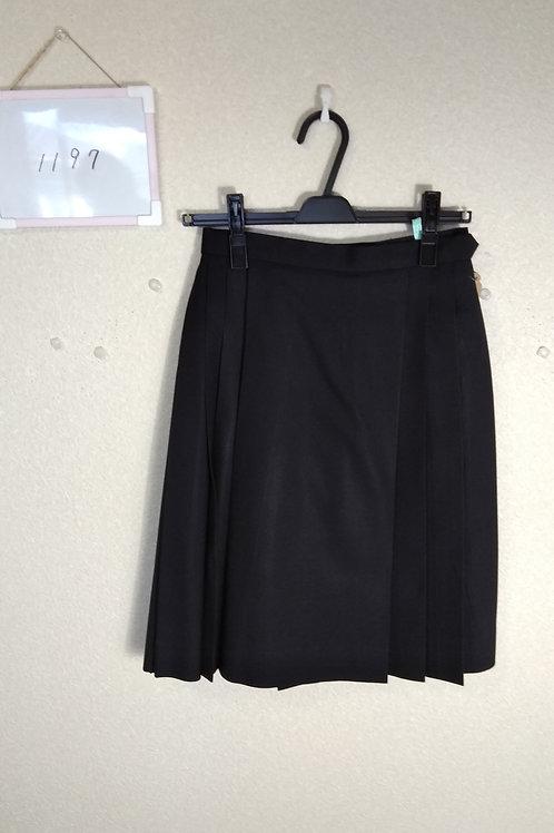 新田高 女子 冬スカート w69-57