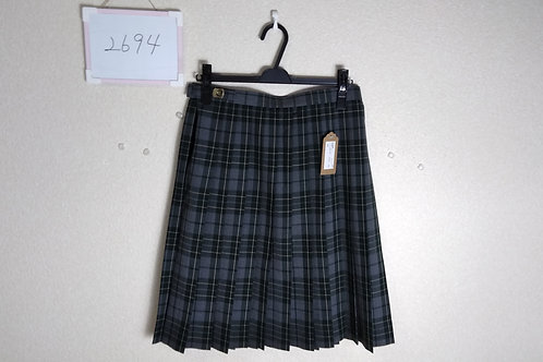 松山東高 女子 夏スカート w72-57