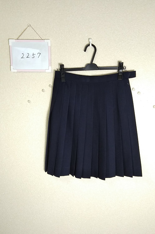 標準中 女子 夏スカート 75-57