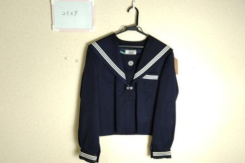 久米中 女子 制服上 175A