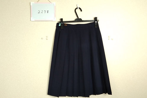 標準中 女子 夏スカート 63-57