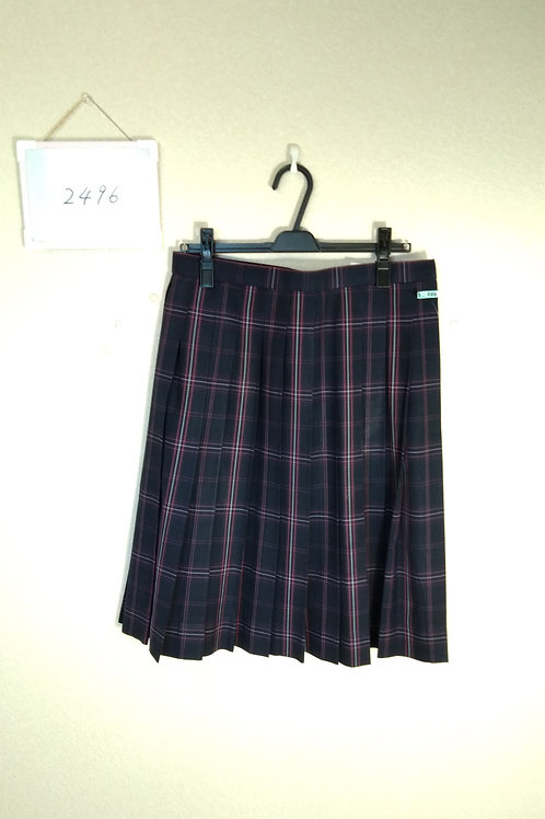 雄新中 女子 冬スカート w72-60