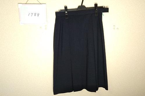 松山西中 女子 夏スカート 69-66