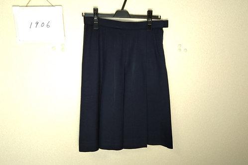 松山中央高 女子 冬スカート 66-57