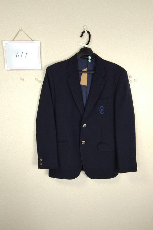 松山中央高 男子 制服上 165A