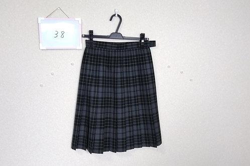 松山東高 女子 夏スカート 66-54