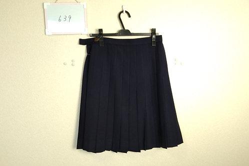 標準高 女子 冬スカート 72-54