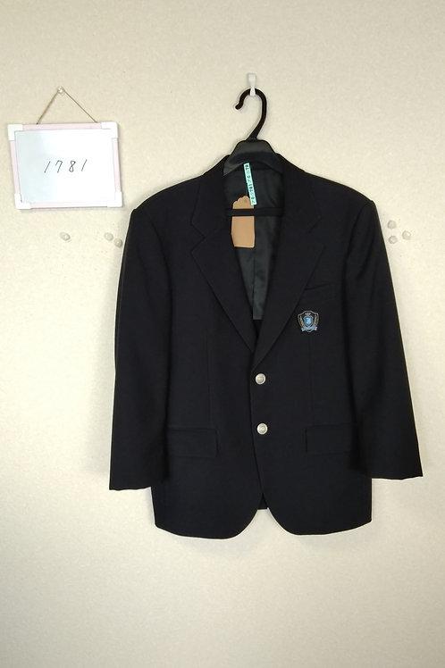 城西中 男子 制服上 165A