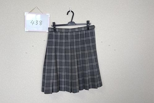 愛大附属高 女子 夏スカート 69-56