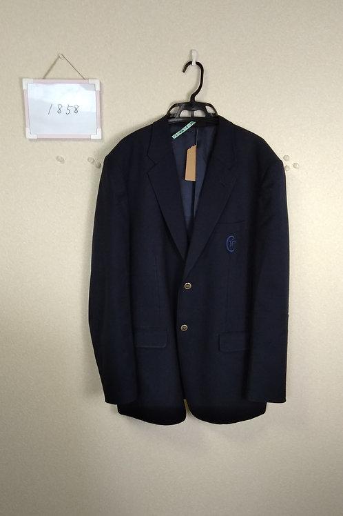 松山中央高 男子 制服上 190A