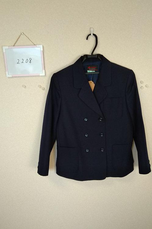 桑原中 女子 制服上 155A
