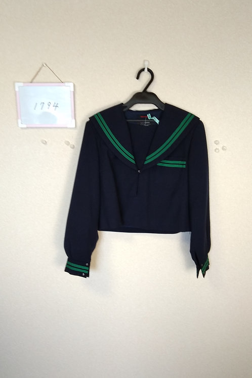 松山西中 女子 制服上 165A
