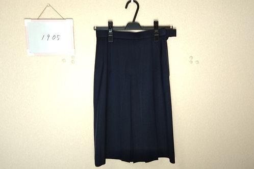 松山中央高 女子 冬スカート 60-57