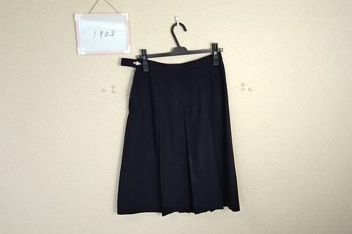 松山中央高 女子 冬スカート w69-60