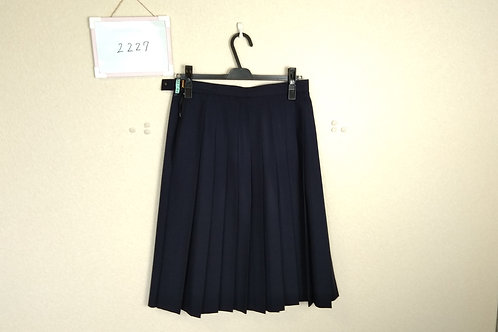標準中 女子 冬スカート 69-66