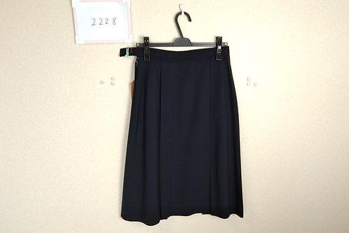 松山西中 女子 夏スカート 69-69