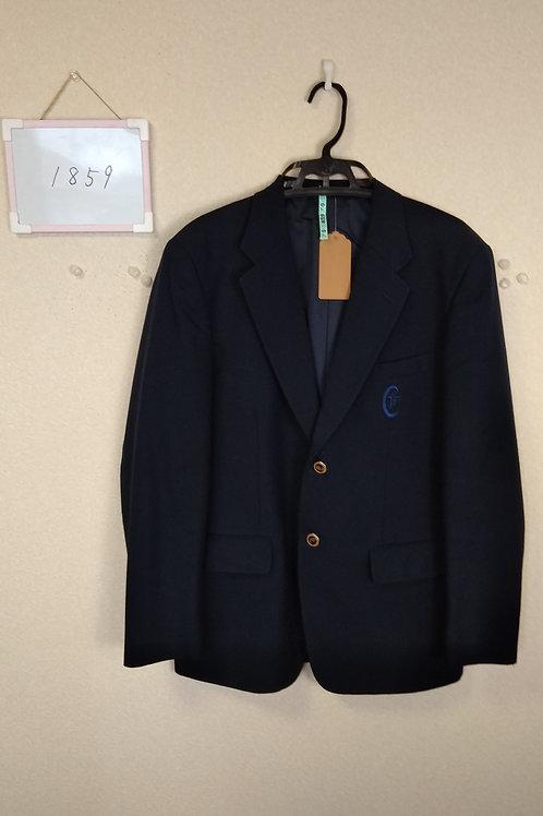 松山中央高 男子 制服上 175A